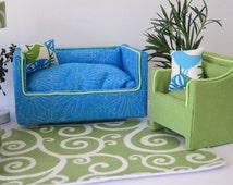 Blue Barbie Sofa