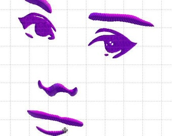 Embroidery Design file Ode to Audrey 4in