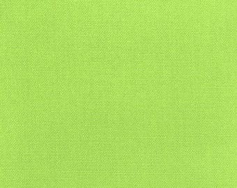 """45"""" Lime Broadcloth Fabric - By The Yard"""