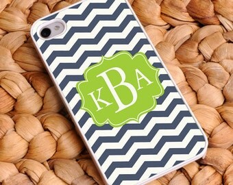 Personalized Chevron iPhone Cases - Mother's Day Gifts - Gifts for Mom - Gifts for Bridesmaids - Gifts for Her GC1062
