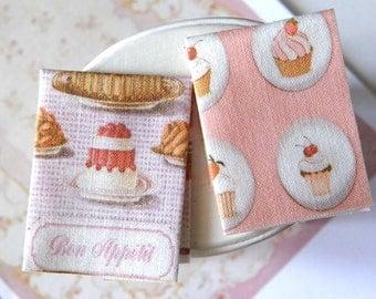 set dollhouse tea towel