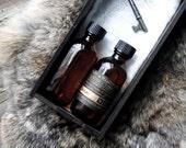 Ferrum: Beard Oil 2 oz Birch Tar and Vanilla Absolute Natural
