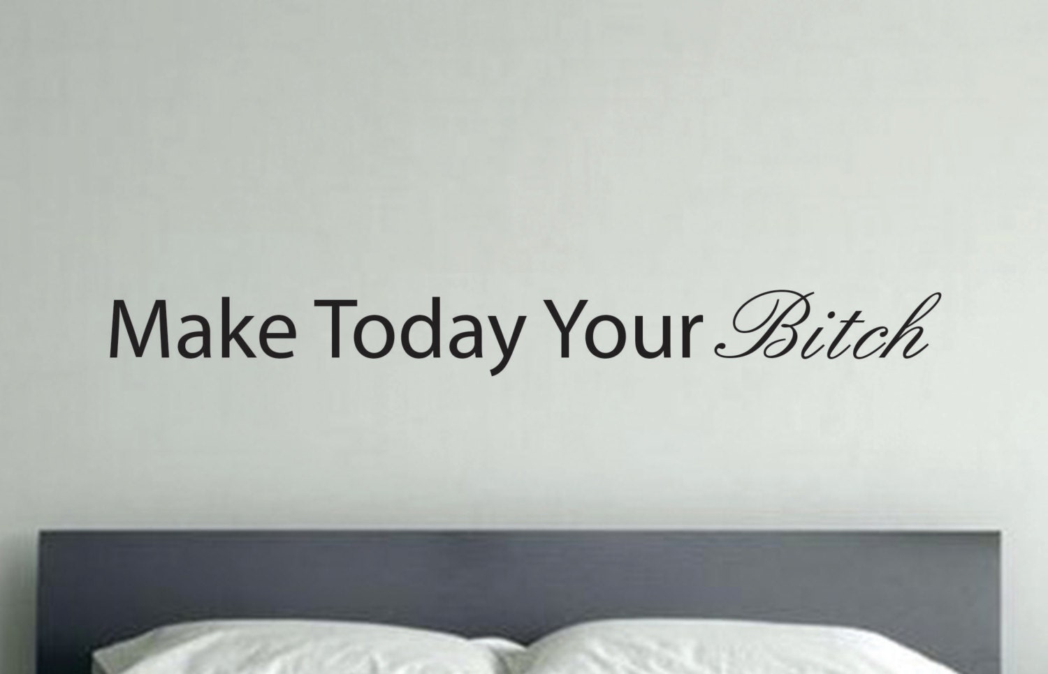 Funny motivational wall decalwall ceiling decor vinyl wall zoom amipublicfo Choice Image
