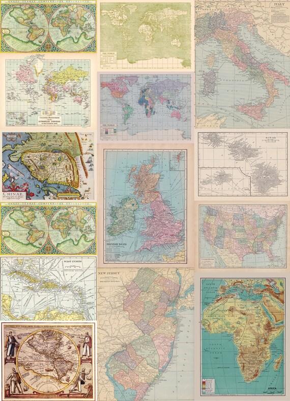 Fabric yardage many vintage maps yardage of antiquevintage fabric yardage many vintage maps yardage of antiquevintage world map fabric glorious maps from mapology on etsy studio gumiabroncs Gallery