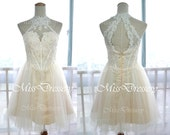 2014 Short Prom Dresses, Lace Prom Dresses, MIni Lace Cocktail Dresses, Wedding Party Dress, Prom Dresses, Formal Gown, Bridesmaid Dresses