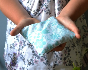 Hand warmer cushion with cherry pits. No more cold hands!