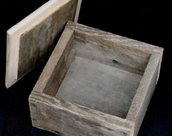 Barnwood Trinket Box