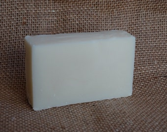 Handmade Unscented Shea Butter Soap