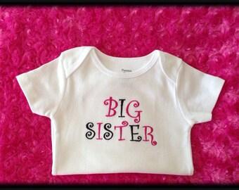Big Sister Onesie announcement