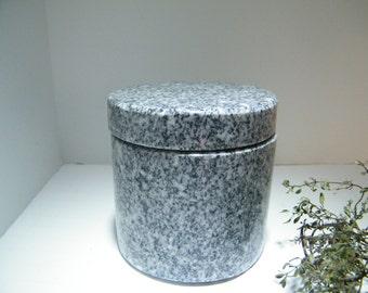 Storage Jar/Herb Canister /Granite Stone Jar