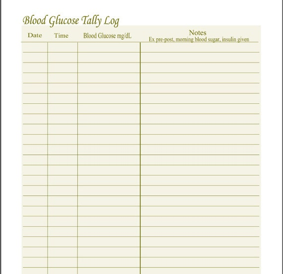 printable diabetic log sheets pictures to pin on pinterest pinsdaddy