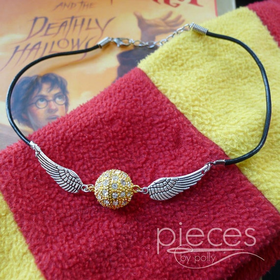 Golden Snitch Harry Potter Necklace