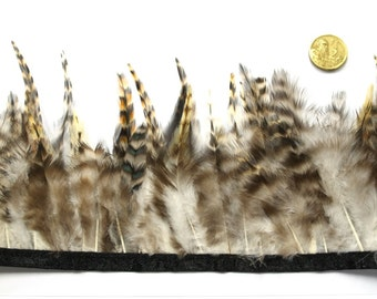 1 x Metre of  Natural Feather Trim by the metre - #360