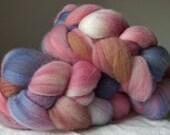 Pastel Love #1 - Handdyed Polwarth Roving