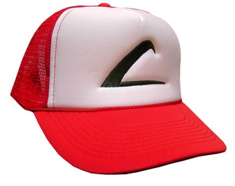 Ash Ketchum Embroidered Trainer Hat