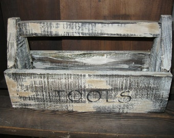 Primitive Wood tool box