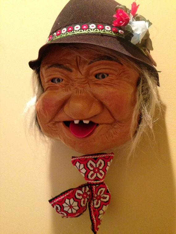 Toys That Were Made In The 1970 : Vintage tyrolean yodeler laffun head s bibi products rare