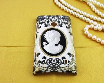 Cameo Vintage Nokia Lumia 521 Hard Shell Skin protective Cover Case