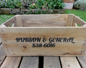American Soda Bottle Inspired Crate