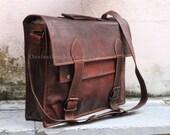 Leather office bag leather satchel mens womens messenger bag crossbody bag laptop bag