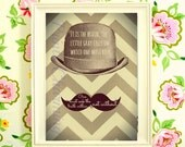 Hercule Poirot Quote Fine Art Printable 8x10 JPG file