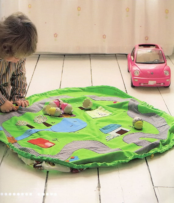 No.13 PDF Pattern Of How To Do Kids Carry Play Mat Sewing