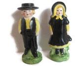 Pilgrim / Shaker / Amish man and woman Salt and Pepper.