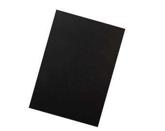 "Eclipse Black 3""x4"" Cardstock 25 pack"