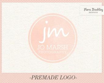 Monogram Logo Premade Custom and Watermark - FB084