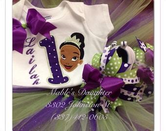 Princess Tiana Tutu set!