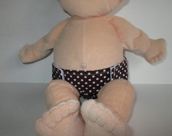 Fits Baby Stella 15 in doll PDF diaper pattern Baby Stella Doll Clothes