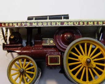 Vintage Lesney Carnival Fowler Big Lion Showman's Engine Wagon Made in England Diecast  - 1958  England
