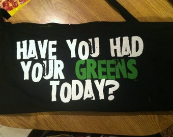 Up cycled t-shirt purse