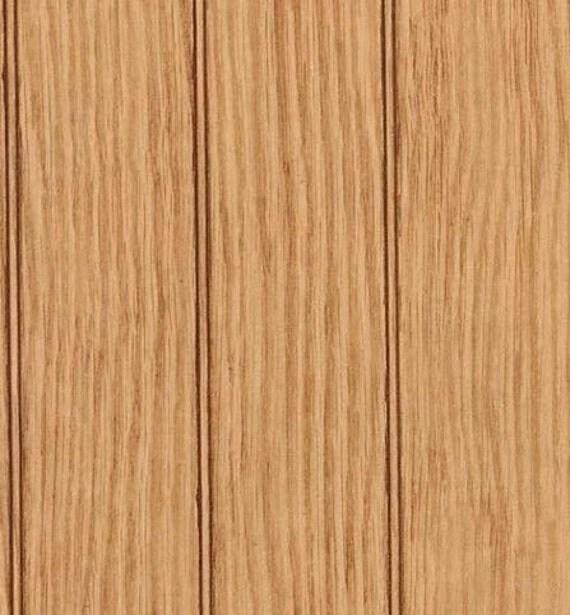 Faux Distressed Brown Wood Beadboard Wood Grain Look Panel