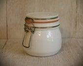 Vintage Milk Glass jar