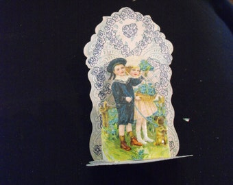 Antique Folding Valentine