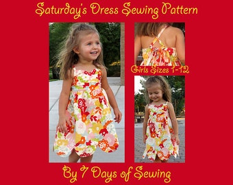 Saturday Dress Sewing Pattern PDF