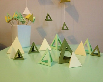 Geometric Table Pieces