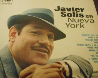 Javier Solis- En Nueva York- vinyl record