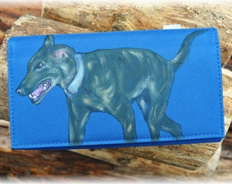 WALLET with GREYHOUND
