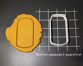 Beer Can Soda Can Cookie Cutter Made to order E0126