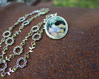 Alice in Wonderland Caterpillar Necklace