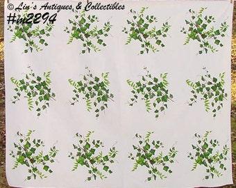"Wilendur ""Ivy"" Vintage Tablecloth (Inventory #M2294)"