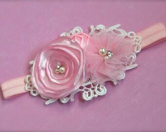Lena headband - Pink