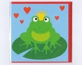 Fairytale kiss the frog