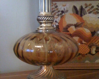 Vintage Hollywood Regency style lamp