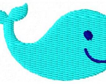 Whale Mini Embroidery Design