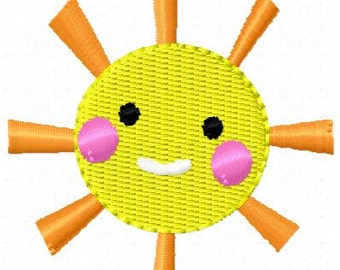 Sunshine Mini Embroidery Design