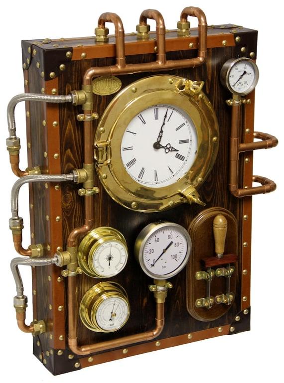Настенные часы BernisCervera (промышленные стимпанк старый стиль и Винтаж)