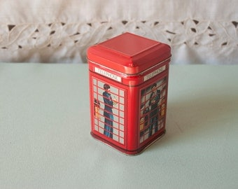 Red Telephone Box Tin